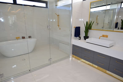 Southern Queensland Waterproofing - Brisbane & Gold Coast - Waterproofed White Bathroom